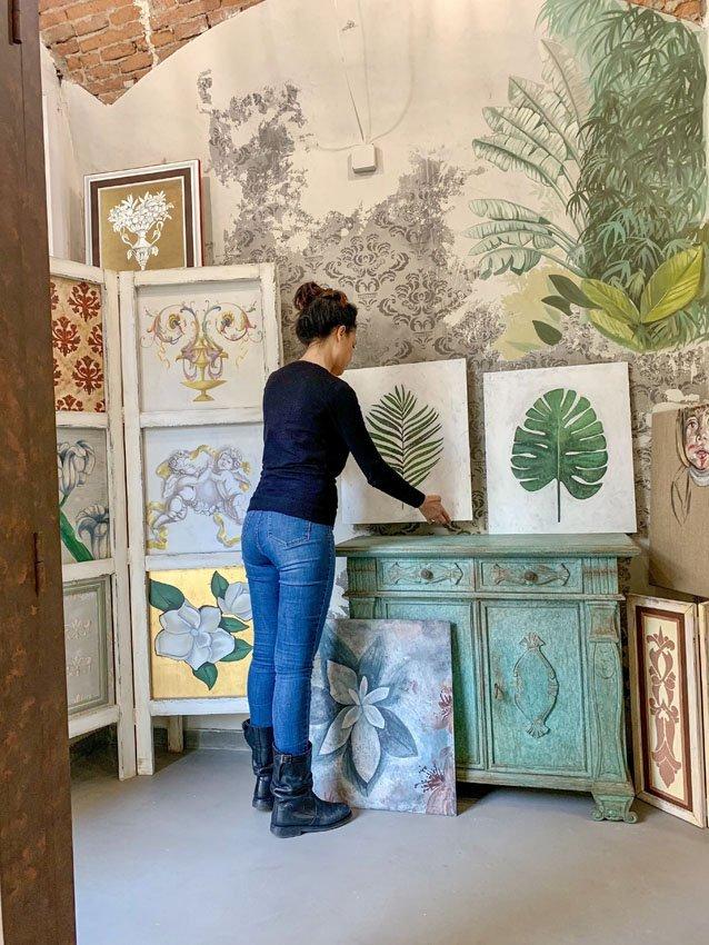 Decorazioni pittoriche su pareti | Pitture murali artisitiche